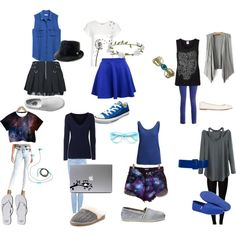 """""""Ravenclaw Casual outfits"""" by wbvaughn on Polyvore"""