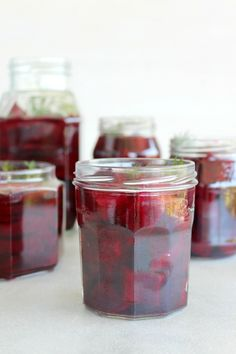 Easy sugar free, lightly pickled, delicious 5 Ingredient Healthy Pickled Beets that will last in the fridge for weeks! Just under an hour to prepare. Beetroot Recipes, Fruit Recipes, Bacon Spinach Salad, Goat Cheese Salad, Low Sugar, Sugar Free, Refrigerator Pickled Beets, Pickled Beets Recipe, Recipes