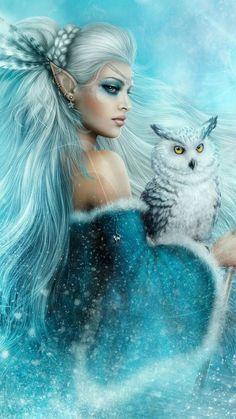 Image in ⓕⓐⓝⓣⓐⓢⓨ collection by ღĻαԃყ ʅσʅʅყ ϝʅყღ Fantasy Girl, Fantasy Art Women, Beautiful Fantasy Art, Beautiful Fairies, Beautiful Things, Beautiful Pictures, Fairy Pictures, Fantasy Pictures, Fantasy Creatures