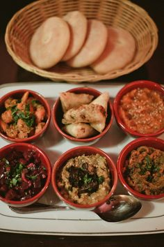 Traditional Moroccan Tapas Recipes | Epicurious.com, ,