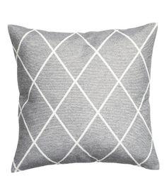 Jakardikudottu tyynynpäällinen   Hopeanharmaa   Home   H&M FI