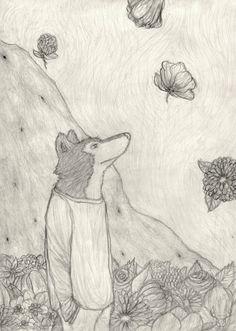 """""""Aber Blumen sind doch blöd"""", sagte Lobo."""