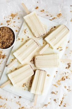 Brown Butter Popsicles - these are getting made today!
