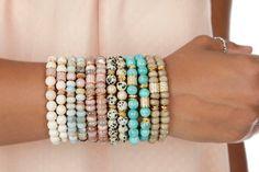 Boho Bohemian Bracelets /Natural Gemstone Beaded Bracelets for Women / Gifts for Her / Natural Stone Bracelets / Expressions Bracelets by ExpressionsBracelets on Etsy Bohemian Bracelets, Gemstone Bracelets, Gemstone Beads, Agate Beads, Stack Bracelets, Colorful Bracelets, Jewelry Bracelets, Necklaces, Gifts For Women