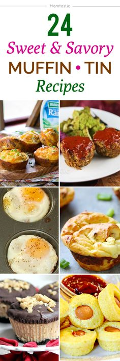 24 sweet and savory muffin tin recipes