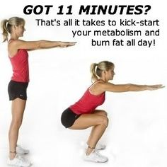 Looking for tips to lose weight fast and easy? Youre not too busy to work out! Even if you just did a quick 11 minute circuit workout you could be burning fat all day.  And if you do it first thing in the morning youll be wide awake for work!   Want some more tips to lose weight?  Get your FREE copy of The Digest Your Quick-Start Weight Loss Blueprint here: www.tipstolosewei...
