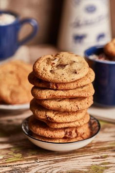 Cookie, a perfekt amerikai csokis keksz | Street Kitchen Fudge, Cookies, Recipes, Food, Drink, Interior, Crack Crackers, Beverage, Eten