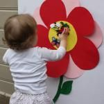 Game for birthday - if we do butterfly theme...pin the bug on the flower!