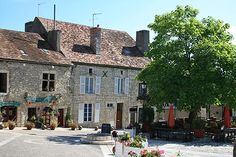 Picture of Chauvigny: spent a lot of time in this little town.