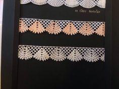 NKさん。ツイープキのシリーズがどんどんすすんで、美しい作品が見本帳に並んできました。「見本帳は全部白で揃えたい」とおっしゃって、同じ型を2色のバリエーションで編みましたが、どちらもステキです~♪22/20160128