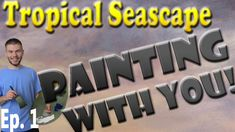 Join us as we start a new Oil Painting with You! In this episode, we paint in a simple sunset sky with soft colors to start off this new painting. If you would like to be part of this exciting painting process, please be sure to vote at the end of each episode to see how you would like this painting to continue! To vote, please visit: www.paintwithkevin.com/vote