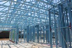 7 Best Impressive inside and out - Supaloc steel frames images Mcdonald Jones Homes, Steel Frame House, Home Board, Building Systems, Steel Buildings, Home Builders, Skyscraper, Frames, New Homes