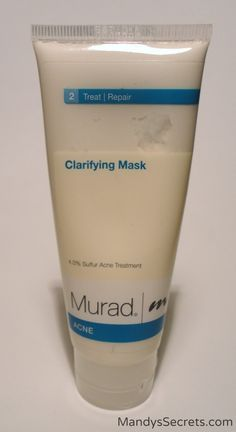 Overall, I really like the Murad Acne Clarifying Mask. It's easy to use, and gives great results due to the high sulfur content in it (4.0%), which makes it great for teens or anyone who is trying to clear up cystic acne quickly. It's non-drying and non-irritating, and safe to use multiple times per week.