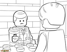 bad cop lego coloring pages - photo#29