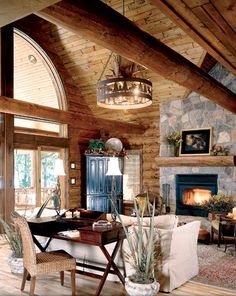 Family retreat log cabin