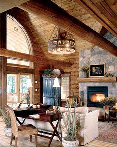 Family retreat log cabin