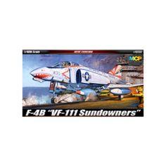 Aircraft Aero Military models Kit 1/48 SCALE F-4B VF-111 Sundowners (#12232)