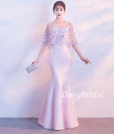 Ideas For Dress Silk Long Satin Color Pictures Elegant Prom Dresses, Pretty Dresses, Beautiful Dresses, Evening Dresses, Formal Dresses, Tulle Prom Dress, Mermaid Prom Dresses, Wedding Dress, Gaun Dress