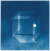 de la série Figures, cyanotype, 2016, 20 x 20 cm
