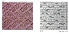 014 nice beautiful knitting stitch pattern lace aran красивые узоры на спицах click to large