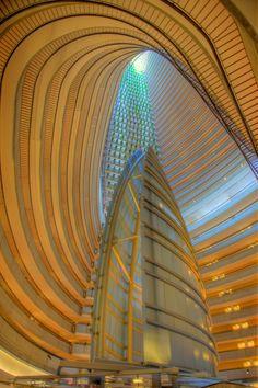 Marriott Marquis / Atlanta Designed by Atlanta architect John C. Portman, Jr