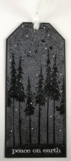 Suzz's Stamping Spot, Tim's November Tag, Chalkboard Fun, Snowy Snowy Night, Peace on Earth,