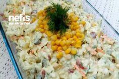 Yoğurtlu Patatesli Lahana Salatası