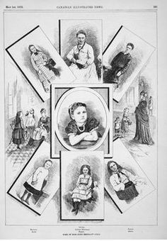 Maria Rye children - British Home Children brought to Canada in the late 19th and early 20th centuries.
