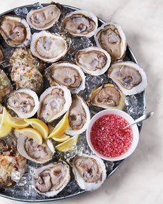 """I+know+fresh+seafood+is+a+splurge,""+says+Martha,+""but+people+always+remember+how+many+oysters+they+ate.+I+serve+fresh+oysters+from+Norwalk,+Connecticut,+but+you+could+also+do+crab+claws+in+the+West,+or+shrimp."""