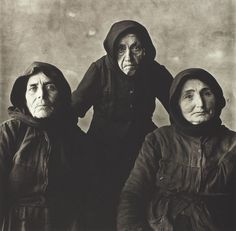 Irving Penn  American, 1917–2009  Three Cretan Women, Crete, 1964