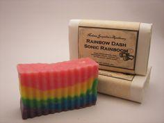My Little Pony Rainbow Dash Sonic Rainboom by MadameJacqueline, $7.50
