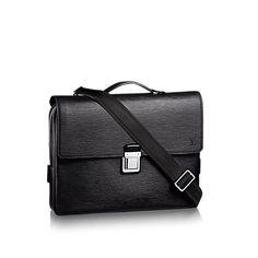 12b4c1cdff COM - Louis Vuitton Vassili PM (LG) EPI Men s Bags Louis Vuitton