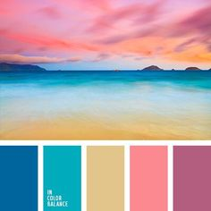 Color Palette by In Color Balance Scheme Color, Colour Pallette, Color Palate, Colour Schemes, Color Combos, Summer Colour Palette, Beach Color Schemes, Beach Color Palettes, Beautiful Color Combinations