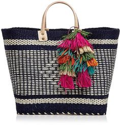 The best beach bags for Summer: Mar y Sol Ibiza Tote ($135)