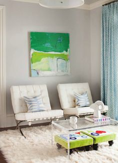 As seen in EAST COAST HOME & DESIGN WINTER 2014 ISSUE- D2 INTERIEURS- KERRI ROSENTHAL AND DENISE DAVIES (PAINTING BY KERRI ROSENTHAL)
