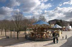 La Villette merry-go-round, photo from: La Villette, Paris
