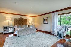 Luxury fills this English Tudor estate in California.