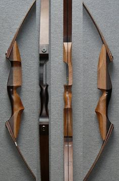 Archery Bows, Archery Hunting, Bow Hunting, Wooden Recurve Bow, Wooden Bow, Takedown Recurve Bow, Recurve Bows, Car Interior Sketch, Homemade Bows