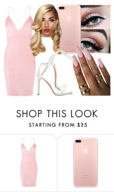 """""""🌸🙌🏿"""" by foreverkaylah ❤ liked on Polyvore featuring Boohoo and Zara"""