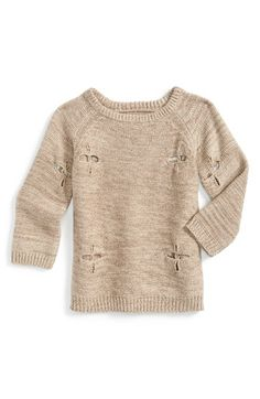 Peek 'Dylan' Crewneck Sweater (Baby Girls) available at #Nordstrom