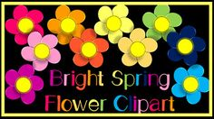 10 bright clip art flowers for personal and commercial use. They can be used to brighten up your TPT products, your classroom, and activities! If using commercially, please provide a link back to my store for credit. Thank you!