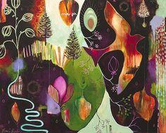 Deep Peace Giclee, flora bowley