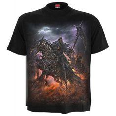 """T-shirt Spiral Gothique """"4 Horsemen"""""""