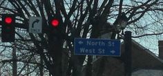 I think of Kim Kardashian and Kanye West whenever I'm at this intersection.