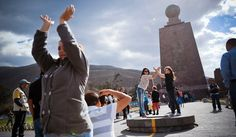 In Ecuador, Center of the Earth Is a Little Off Kilter - The New York Times