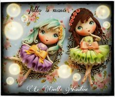 Doll polymer clay fimo