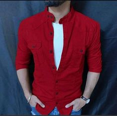 Stylish Shirts, Casual Shirts For Men, Men Casual, Men Shirts, Cool Jackets For Men, Mens Clothing Styles, Men's Clothing, Big Fashion, Casual Outfits