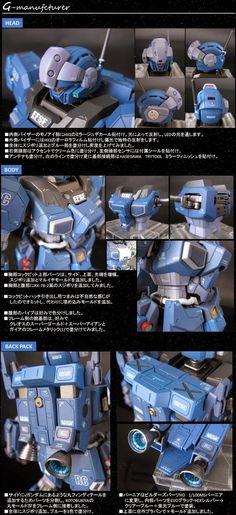 "Custom Build: MG Jesta ""Sniper Cannon"" - Gundam Kits Collection News and… Custom Decals, Custom Paint, Gundam Tutorial, Sf Movies, Gundam Custom Build, Sci Fi Models, Gundam Seed, Frame Arms, Gunpla Custom"