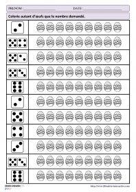 Activités mathématiques pour Pâques 32 fiches d'exercices mathématiques pour la maternelle (PS - MS - GS) autour de la thématique de Pâques. Des exercices de numération, de discrimination visuelles ou encore sur le tableau à double entrée.