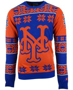 New York Mets Ugly sweaters. Fans of the Mets will be grabbing ...